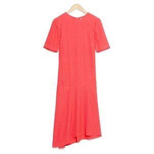 NWOT Asymmetric Midi Dress